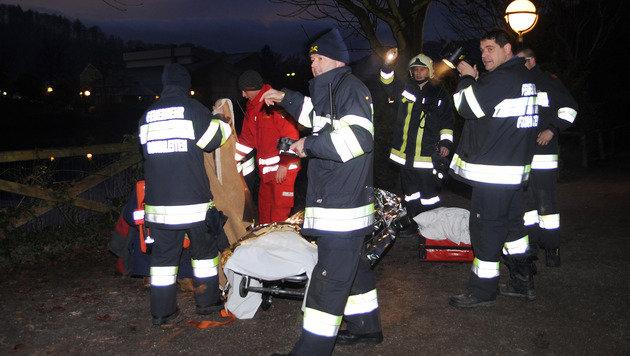 Stmk: Betrunkene Brüder aus eiskalter Mur gerettet (Bild: APA/SIEGFRIED ULLRICH)