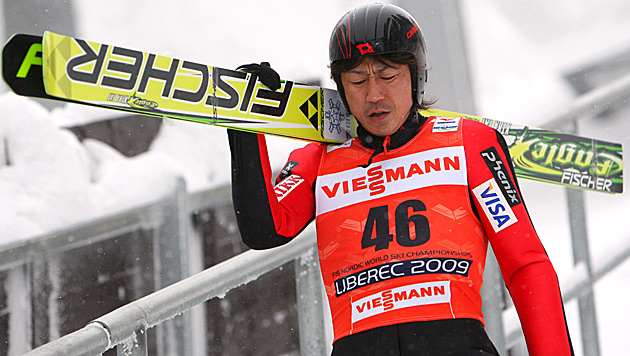 Japaner Okabe gibt in Oberstdorf mit 43 Comeback (Bild: GEPA pictures)