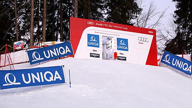 Lienzer Weltcupstrecke hält Schnee und Regen stand (Bild: GEPA pictures)