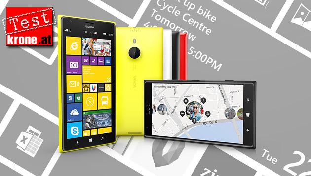 Nokia spielt mit dem Lumia 1520 bei den Großen mit (Bild: Nokia, krone.at-Grafik)