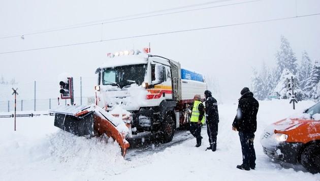 Osttirol weitgehend wieder mit Strom versorgt (Bild: APA/BRUNNER PHILIPP)