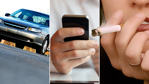 Auto, Handy, Zigaretten: Das wird 2014 teurer (Bild: thinkstockphotos.de, krone.at-Grafik)