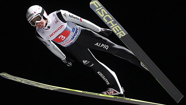 Ammann gewinnt in Oberstdorf, Diethart Dritter (Bild: APA/EPA/Grzegorz Momot)