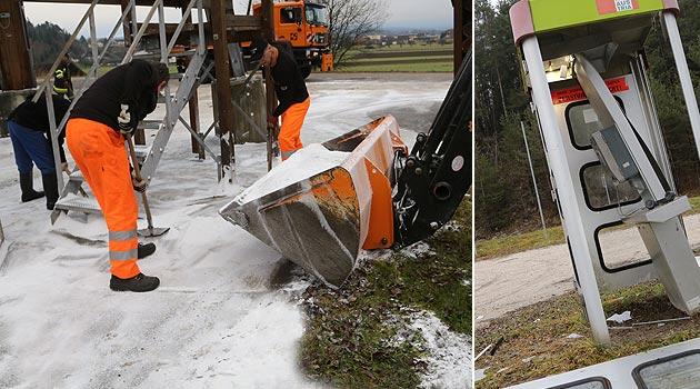 Ktn: Salzsilos sabotiert, Telefonzelle gesprengt (Bild: Uta Rojsek-Wiedergut)