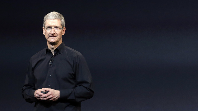 Apple-Boss Tim Cook traf Chinas Vize-Premier (Bild: AP)