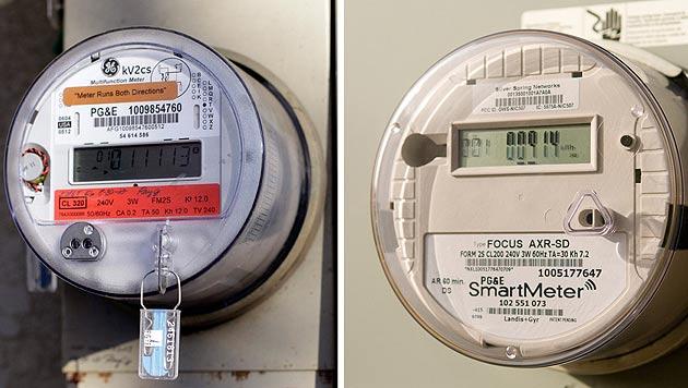 Digitaler Stromzähler: Familie muss kalt duschen (Bild: dapd)