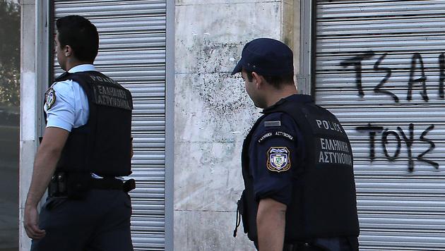 Griechenland: Acht verdächtige Pakete abgefangen (Bild: AP)