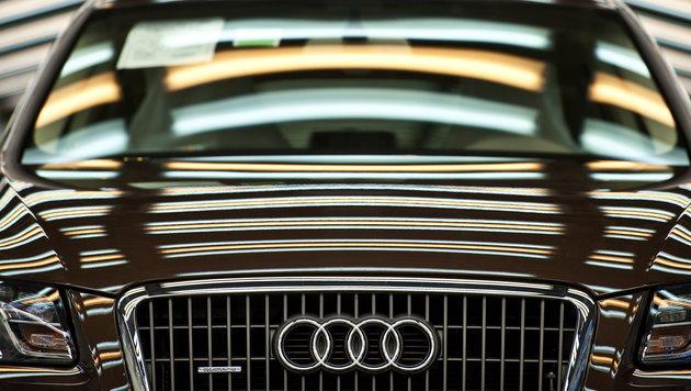 Intelligenter Audi prophezeit freie Parkplätze (Bild: dpa/Armin Weigel)