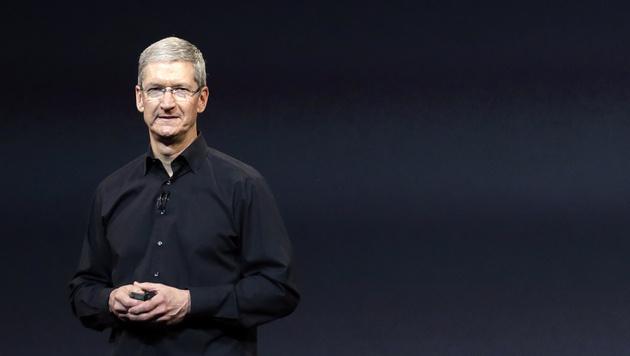 Tim Cook bot Steve Jobs Teil seiner Leber an (Bild: AP)