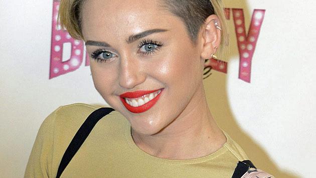 Skandalträchtig! Miley und Madonna wagen ein Duett (Bild: EPA)