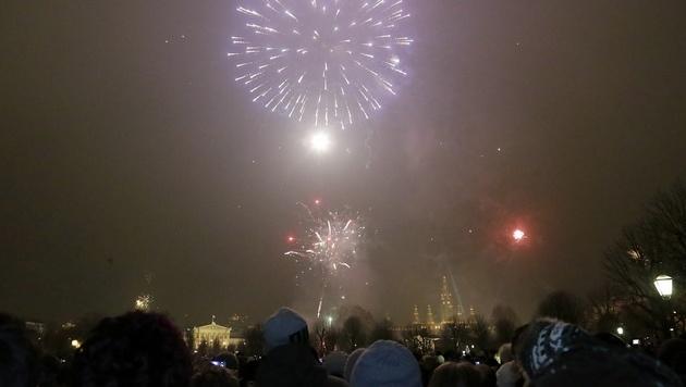 690.000 Menschen begrüßten in Wien das neue Jahr (Bild: Klemens Groh)
