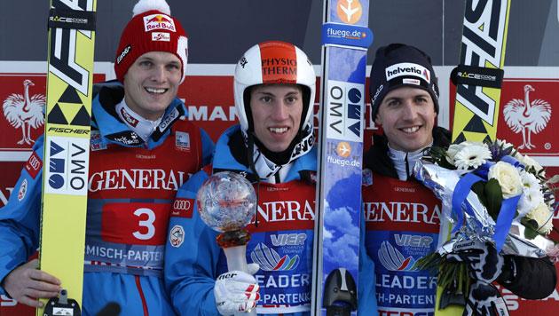 """Youngster Diethart siegt in Garmisch vor """"Morgi"""" (Bild: AP)"""