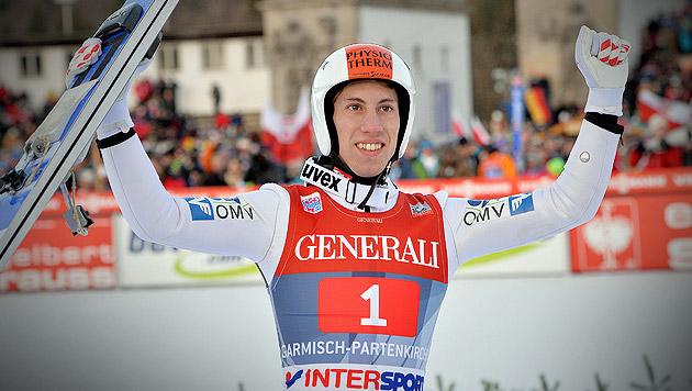 """Youngster Diethart siegt in Garmisch vor """"Morgi"""" (Bild: AP, krone.at-Grafik)"""