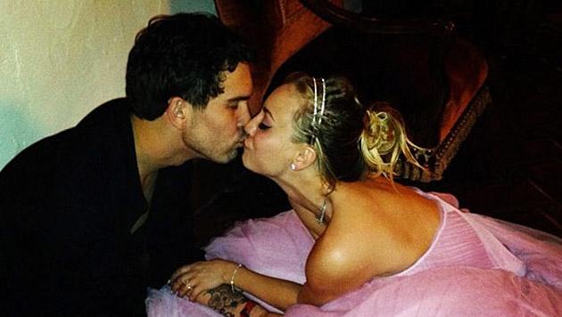 """Big Bang Theory""-Star Kaley Cuoco hat geheiratet (Bild: twitter.com/Kaley Cuoco)"