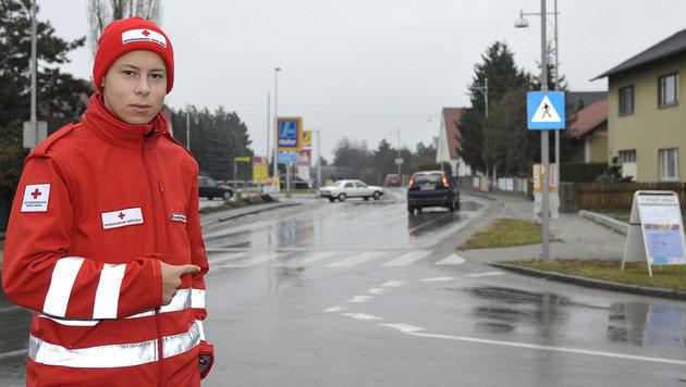 Bub (2) irrte auf stark befahrener Straße umher (Bild: PAUL PLUTSCH)