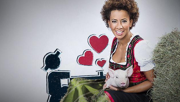 """Arabella Kiesbauer übernimmt """"Bauer sucht Frau"""" (Bild: ATV/Ernst Kainerstorfer, krone.at-Grafik)"""