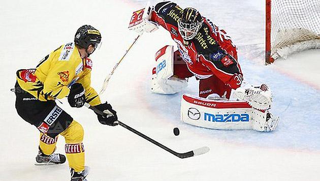 Eishockey: Salzburg souverän, Verfolger straucheln (Bild: Thomas Haumer/EXPA/picturedesk.com)