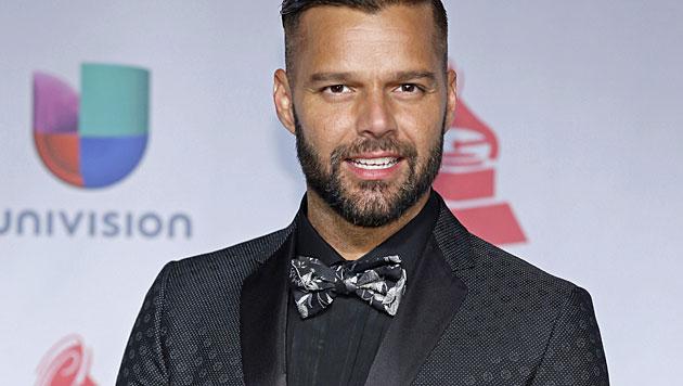 Ricky Martin trennte sich vom Lebensgefährten (Bild: AP)