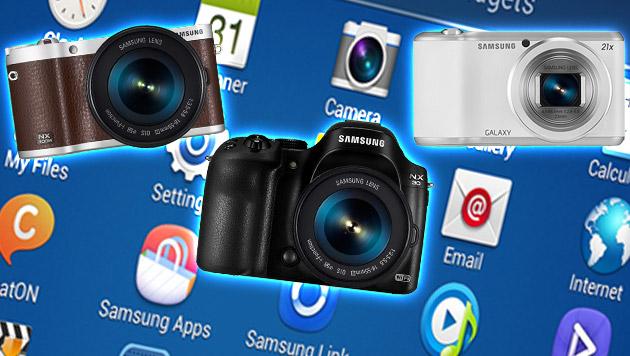 Samsung läutet Foto-Jahr mit drei Modellen ein (Bild: Samsung, krone.at-Grafik)