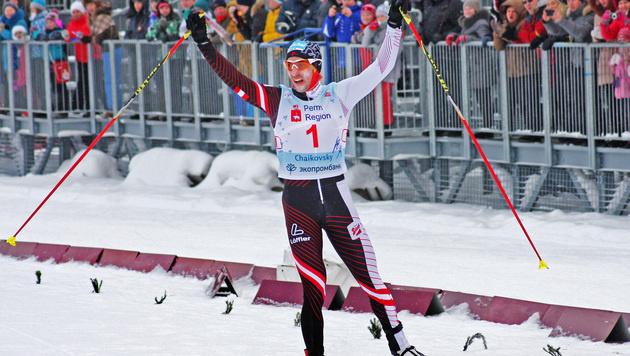 Denifl feiert in Tschaikowski ersten Weltcupsieg (Bild: APA/ÖSV/DERGANC)