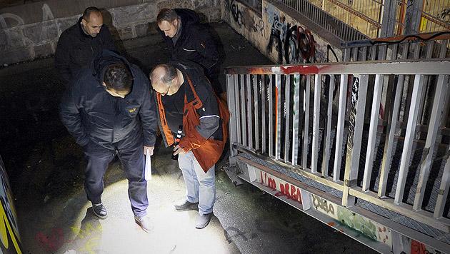 Mordalarm in Wien: Toter in Skaterpark gefunden (Bild: APA/HERBERT P. OCZERET, krone.at-Grafik)