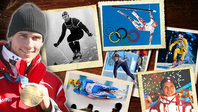 Die Olympischen Winterspiele im Zeitraffer (Bild: AFP, EPA, BIRBAUMER, GRADWOHL, WEREK, TRÖSTER, thinkstock)
