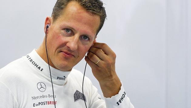 Schumachers Familie bleibt zuversichtlich (Bild: EPA)