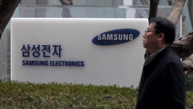 Gewinneinbruch bei Samsung im Weihnachtsgeschäft (Bild: EPA)