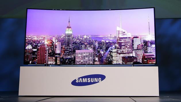 Samsung, LG und Sony zeigen neue 4K-Fernseher (Bild: AP)