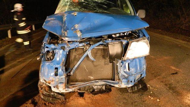 Teenager klaut Autos und schießt auf Polizisten (Bild: FF Gaaden)