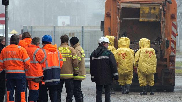 Windeln lösten Strahlenalarm in Linz aus (Bild: APA/WERNER KERSCHBAUMMAYR)