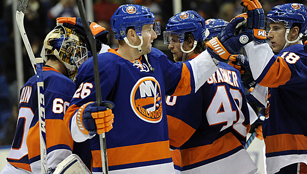 Zwei Vanek-Assists bei 7:3-Sieg der Islanders (Bild: AP)