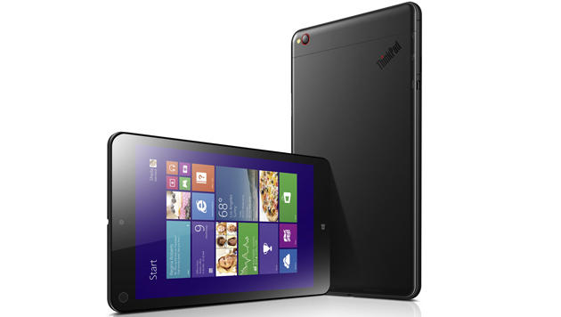 CES: Lenovo erweitert seine Convertible-Familie (Bild: ThinkPad 8 - Quelle: Lenovo)