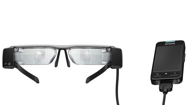 Epson mit neuer Datenbrille - ab Mai in Österreich (Bild: Epson)