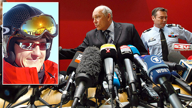 Kein Fremdverschulden bei Schumacher-Unfall (Bild: AP, EPA)