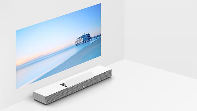 Sony versteckt 4K-Projektor in Wohnzimmermöbel (Bild: Sony)