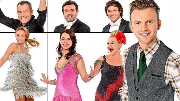 """Willi Gabalier bewertet die neuen """"Dancing Stars"""" (Bild: ORF, krone.at-Grafik)"""