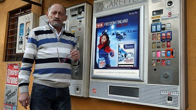 Graz: Zwei Automaten mit Böllern gesprengt (Bild: Jürgen Radspieler)