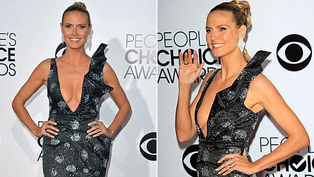 "Heidi: Busen-Show bei People""s Choice Awards (Bild: AP)"