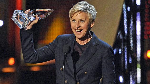 Heidi: Busen-Show bei People's Choice Awards (Bild: AP)