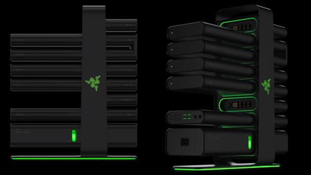 Modularer Gaming-PC und smartes Armband enthüllt (Bild: Razer)