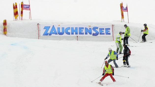 2. Abfahrtstraining in Zauchensee abgesagt (Bild: APA/HANS KLAUS TECHT)