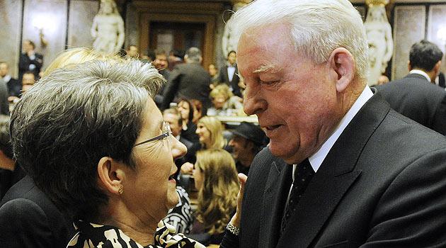 Festakt im Parlament zu Prammers 60. Geburtstag (Bild: APA/Herbert Pfarrhofer)