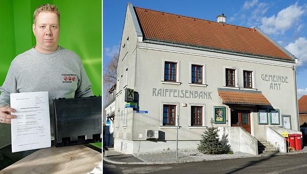 NÖ: Bürgermeister von Rattenfänger ausgebremst (Bild: Klemens Groh)