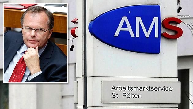 Sinnlose AMS-Kurse: Volksanwalt schaltet sich ein (Bild: APA/HELMUT FOHRINGER, APA/ROLAND SCHLAGER)