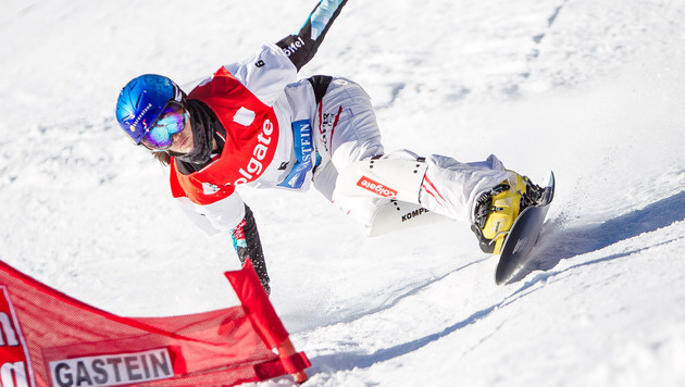 Snowboarderin Dujmovits in Gastein Zweite (Bild: APA/EXPA/JFK)