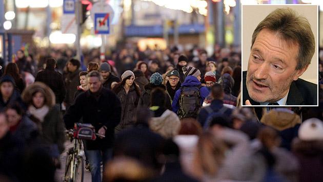 """Befragung zur Mariahilfer Straße """"besser absagen"""" (Bild: APA/GEORG HOCHMUTH, APA/HERBERT PFARRHOFER)"""