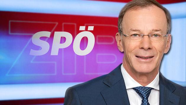 Ex-ORF-Mann Eugen Freund führt SPÖ in EU-Wahl (Bild: APA/ORF/THOMAS RAMSTORFER, krone.at-Grafik)