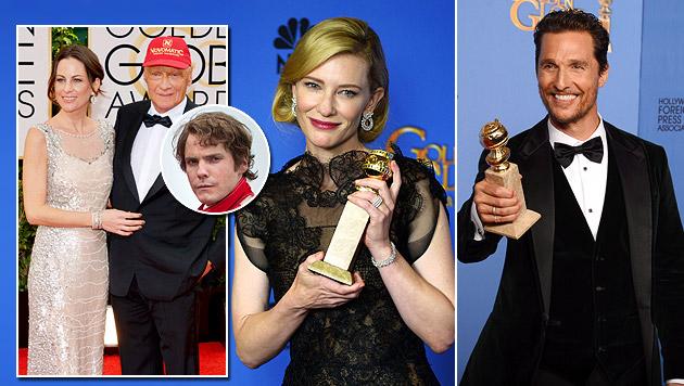 "Golden Globes: Lauda-Film ""Rush"" geht leer aus (Bild: EPA, AP)"