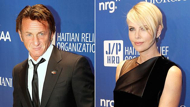 Sean Penn soll mit Charlize Theron anbandeln (Bild: AP)